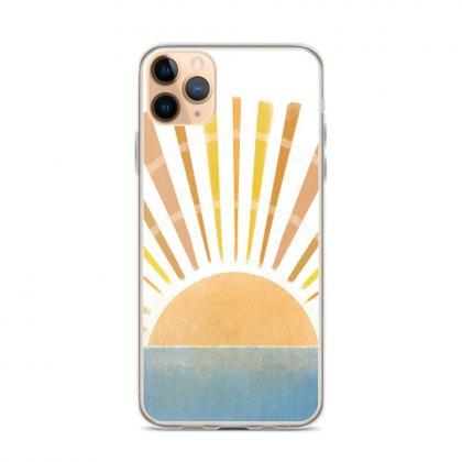 Sun Rays on the Water iPhone Case