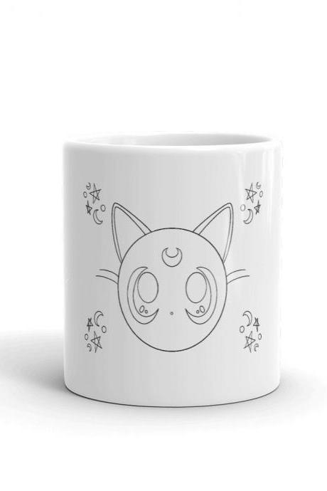 Luna Sailor Moon Minimalist Mug