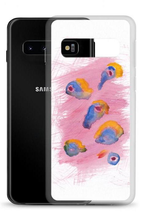Summer #2 Mod Art Watercolor Samsung Case