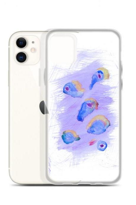 Summer #3 Mod Art Watercolor iPhone Case