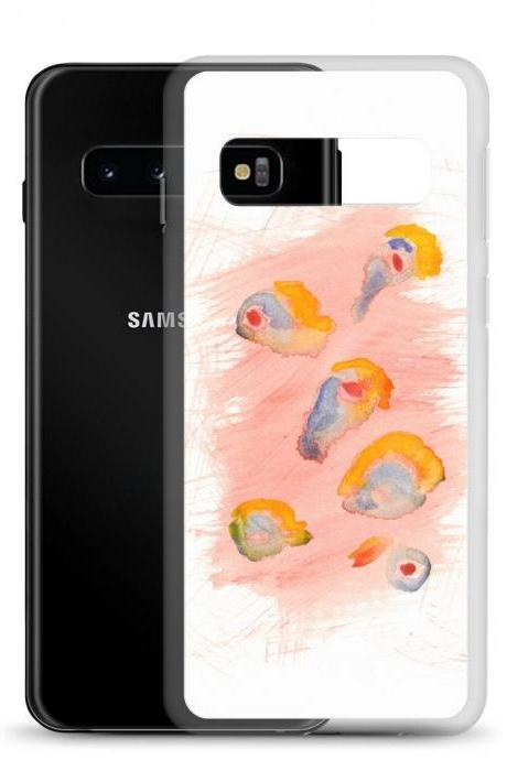 Summer #1 Mod Art Watercolor Samsung Case