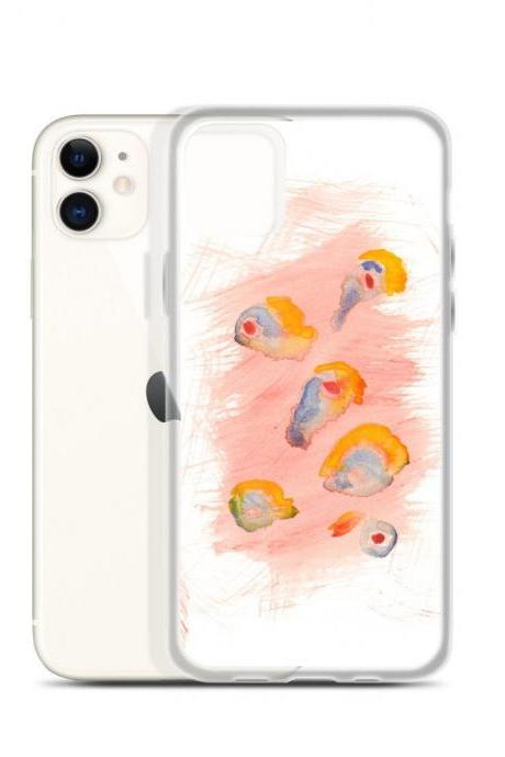 Summer #1 Mod Art Watercolor iPhone Case