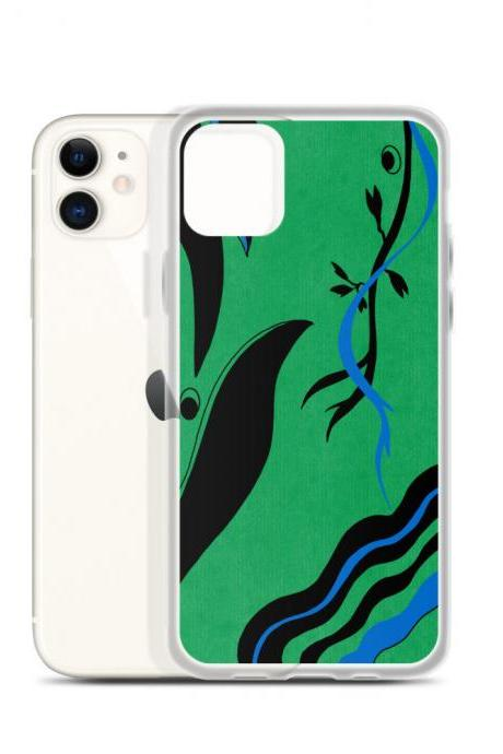 Funky Vines iPhone Case