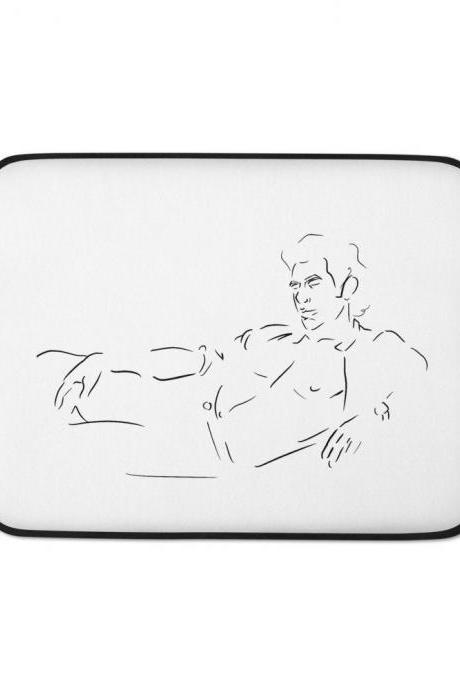 Jeff Goldblum - Jurassic Park Laptop Sleeve
