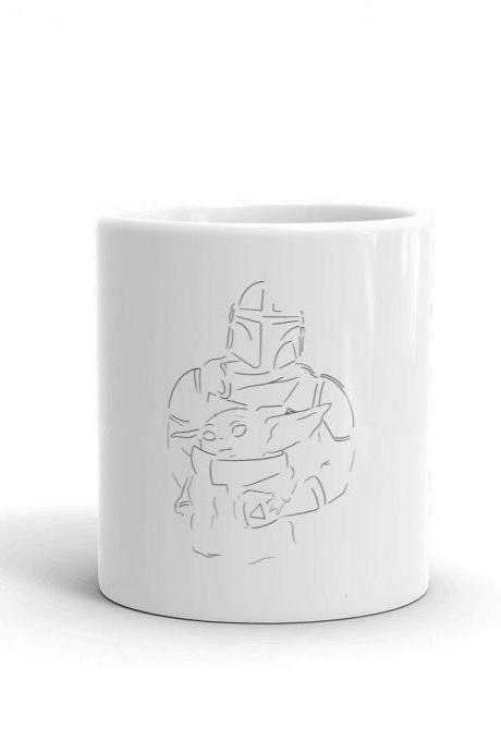 Family Picture Minimalist Design Mug