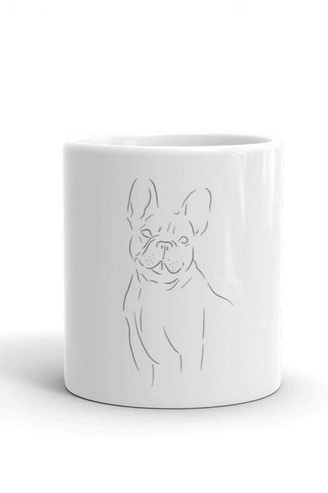 Puppy Love Mug - French Bulldog Minimalist